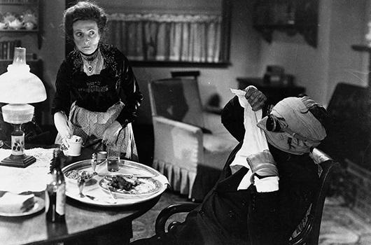 The Invisible Man (1933) Claude Rains and Una O'Connor