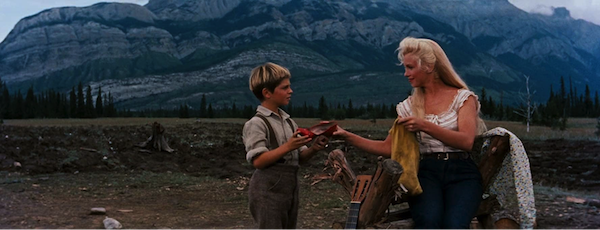 marilyn monroe Tommy Rettig river of no return 1