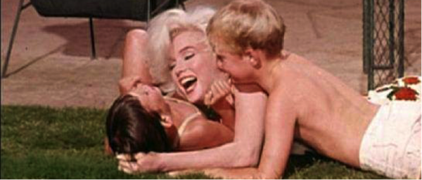 marilyn monroe and kids somethings got to give 3