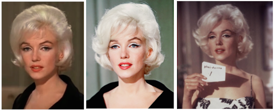marilyn monroe montage 3 somthing has got to give