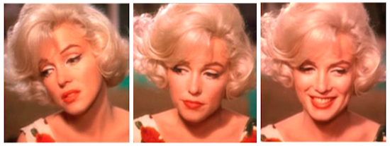 marilyn monroe montage 4 somethings got to give
