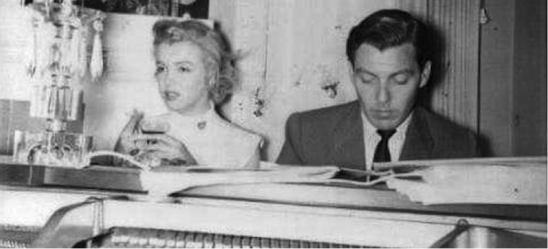 marilyn monroe vocal coach Fred Karger