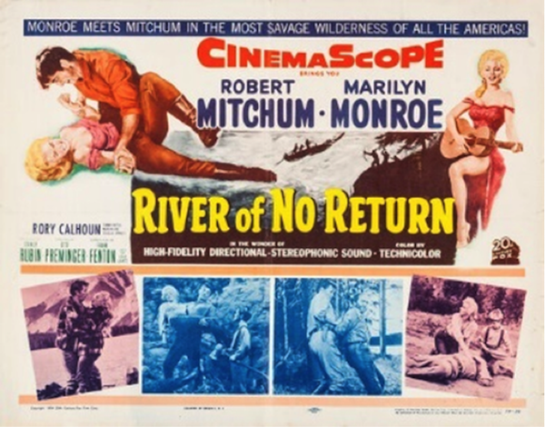 river of no return movie poster