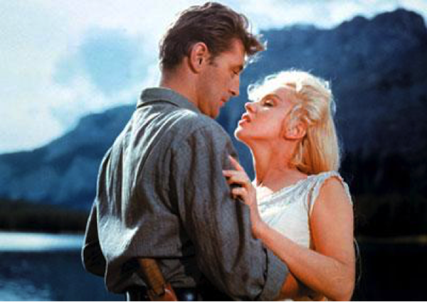 robert mitchum marilyn monroe river of no return