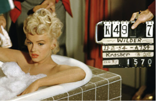 seven year itch bathtub behind the scends marilyn monroe