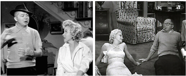 seven year itch marilyn monroe billy wilder montage 2