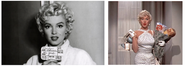 seven year itch marilyn monroe montage