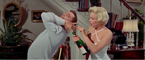 seven year itch marilyn monroe tom ewell champagne 1