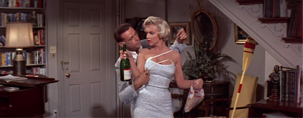 seven year itch marilyn monroe tom ewell champagne 5