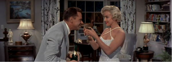 seven year itch marilyn monroe tom ewell champagne 6