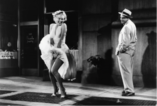 seven year itch marilyn monroe tom ewell subway grate