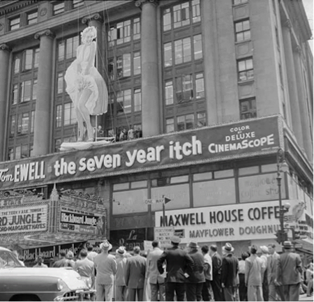 seven year itch marquee