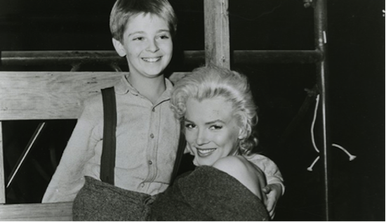 tommy Rettig and marilyn monroe river of no return