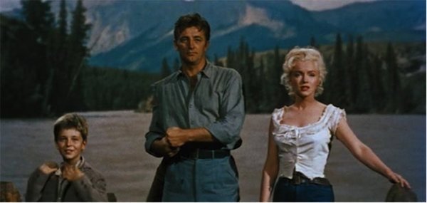 tommy rettig, robert mitchum, marilyn monroe river of no return