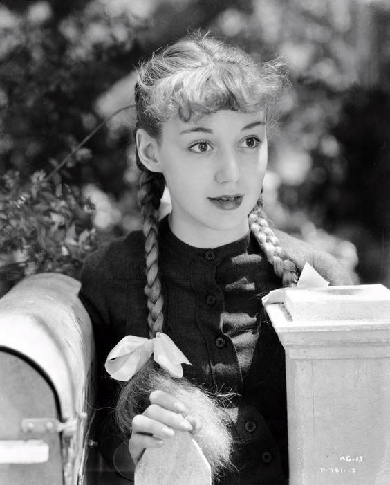 Anne Shirley in Anne of Green Gables (1934)