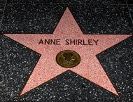 Anne Shirley's Star on the Walk of Fame