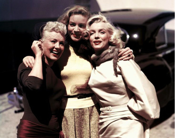 Betty Grable Lauren Bacall Marilyn Monroe