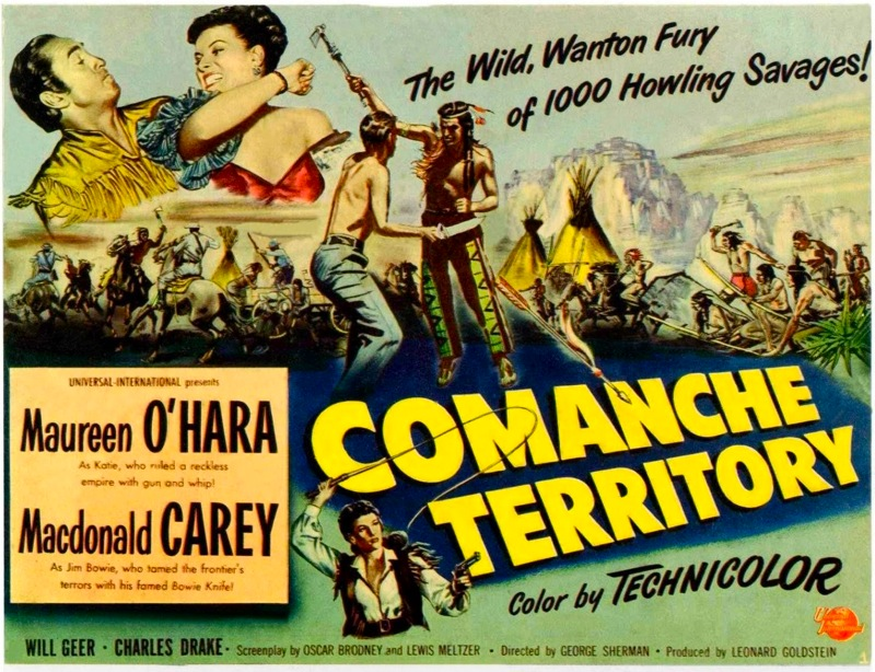 Comanche Territory (1950) Movie Poster