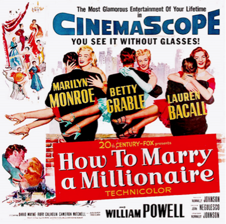 How to Marry a Millionaire Advertisements CinemaScope