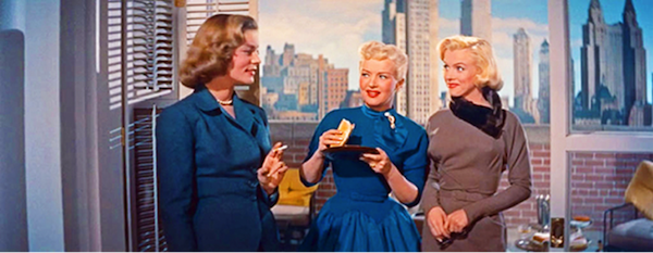 How to Marry a Millionaire bacall grable monroe 2