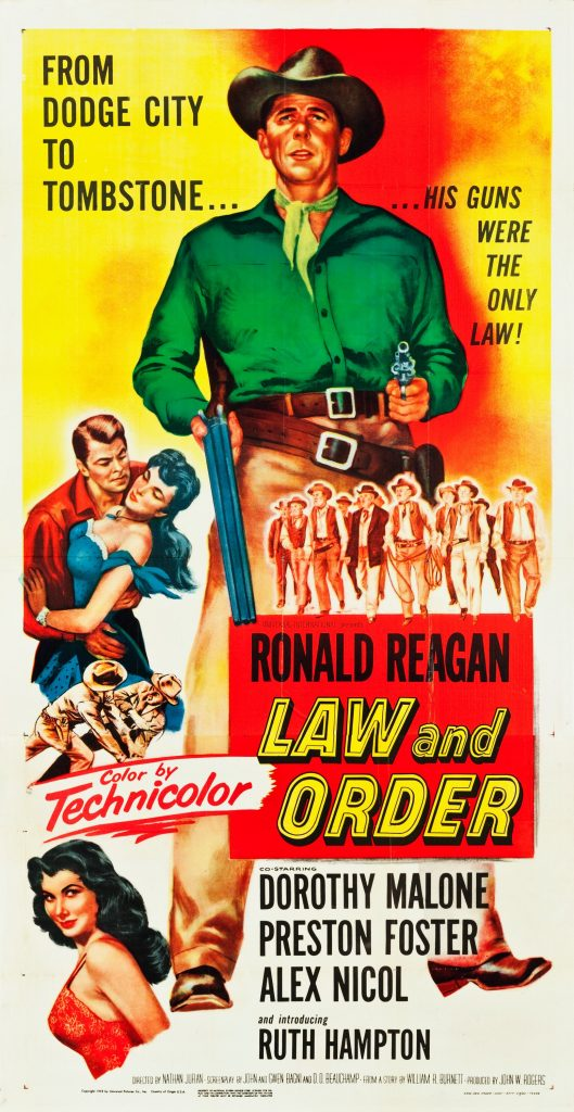 Law and Order (1953) Movie Poster