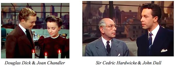 Rope - Douglas Dick, Joan Chander, Sir Cedric Hardwicke, John Dall