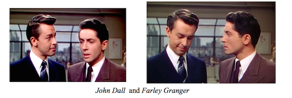 Rope John Dall and Farley Granger