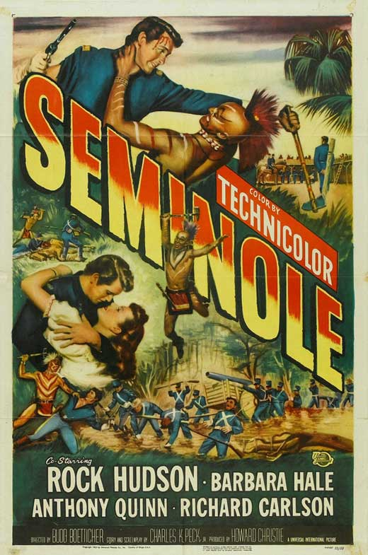 Seminole (1953) Movie Poster