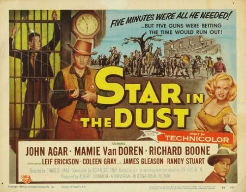 Star in the Dust (1956) Movie Poster