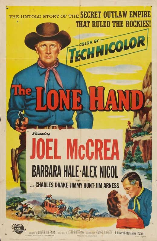The Lone Hand (1953) Movie Poster