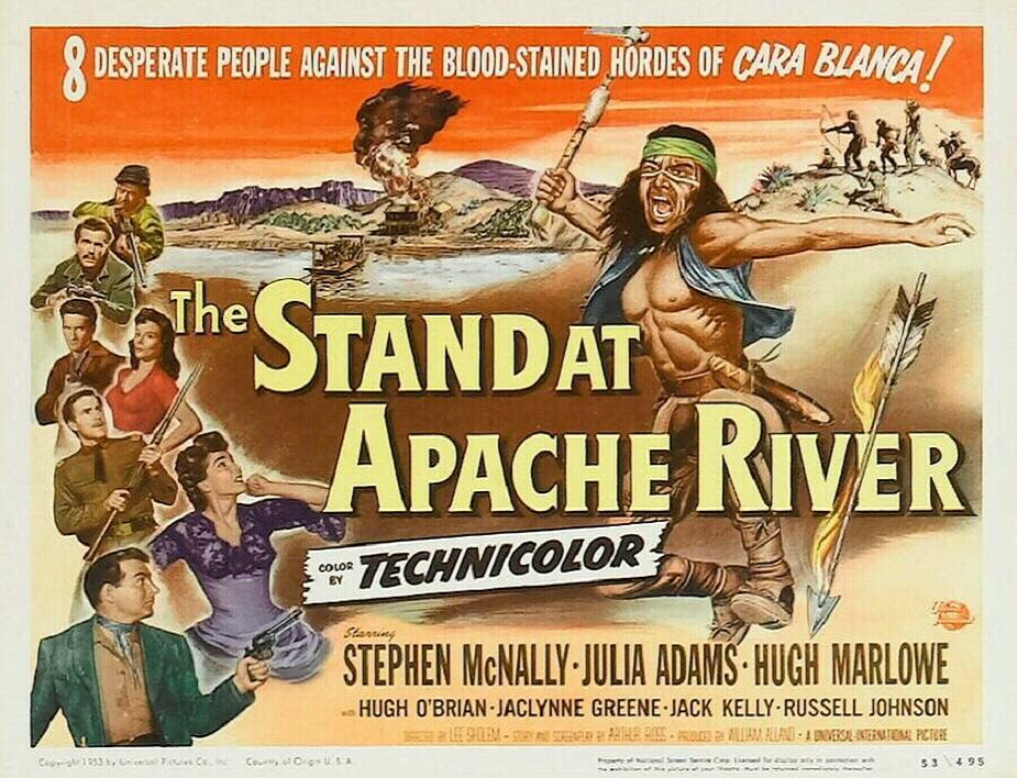 The Stand at Apache River (1953) Movie Poster