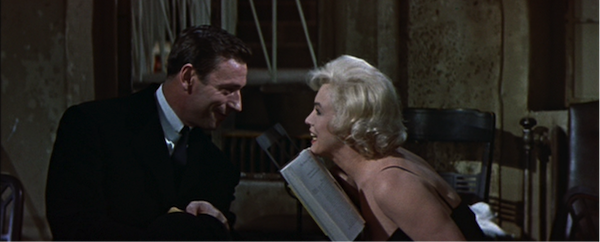 Yves Montand marilyn monroe lets make love 1