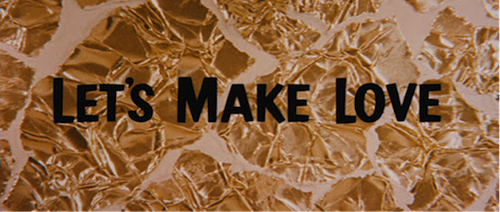 lets make love title treatment