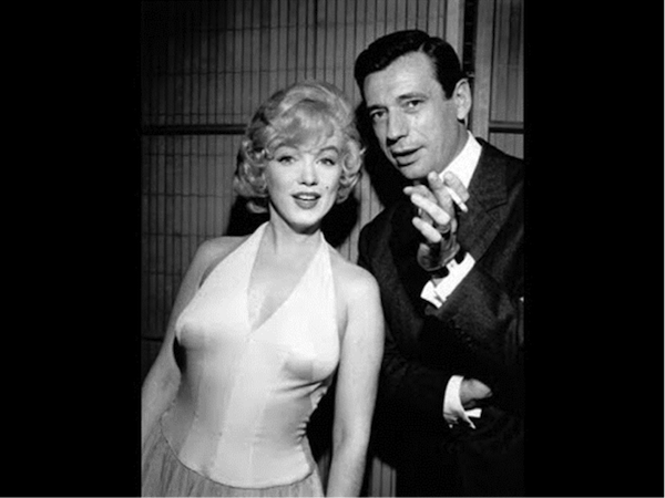 marilyn monroe Yves Montand lets make love 2