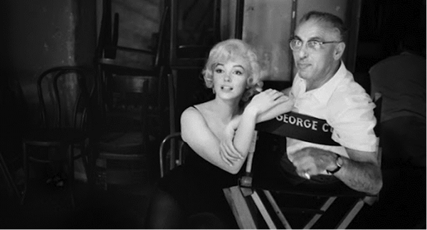 marilyn monroe george cukor behind the scenes lets make love