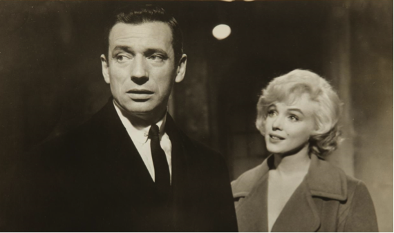 yves montand marilyn monroe lets make love 16