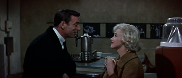 yves montand marilyn monroe let's make love 3