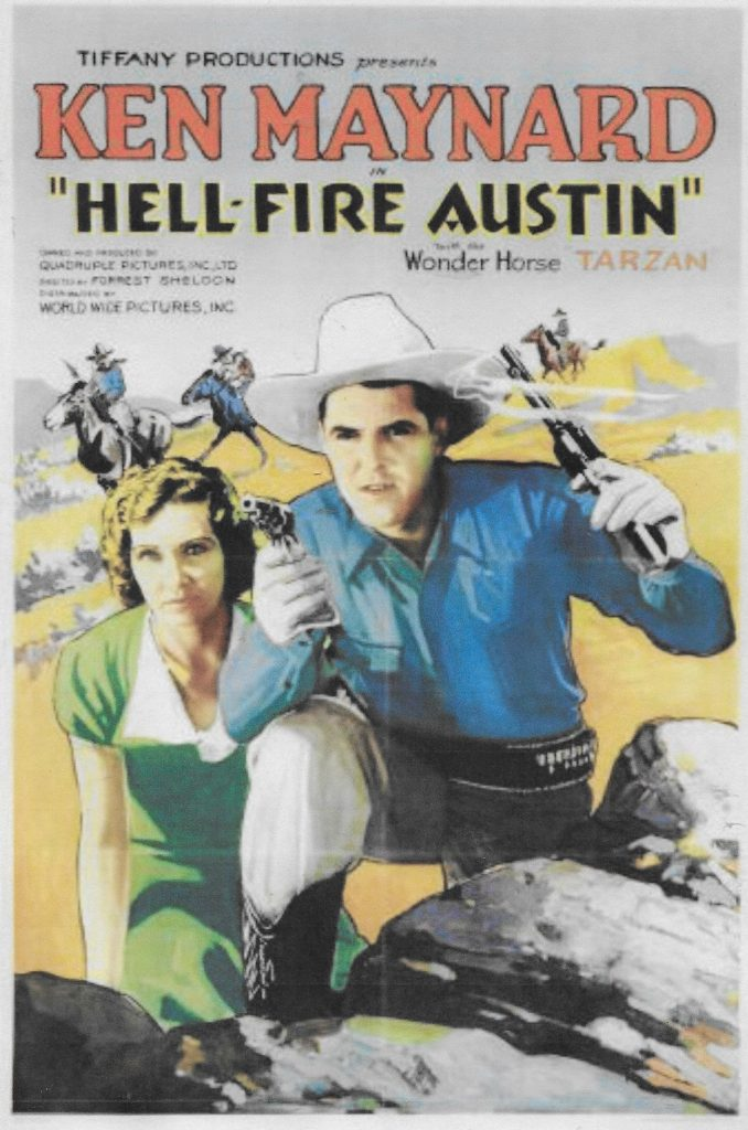 Hell Fire Austin (1932) Movie Poster