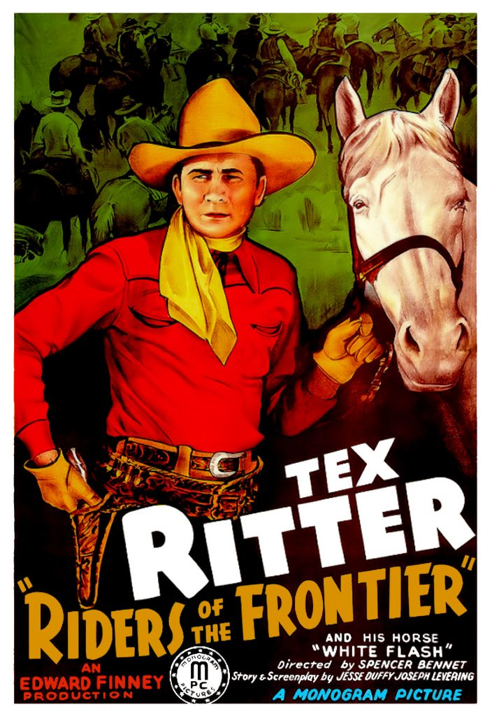 Riders of The Frontier (1939) Movie Poster