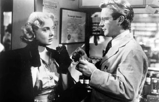 Tension (1949) Audrey Totter and Richard Basehart