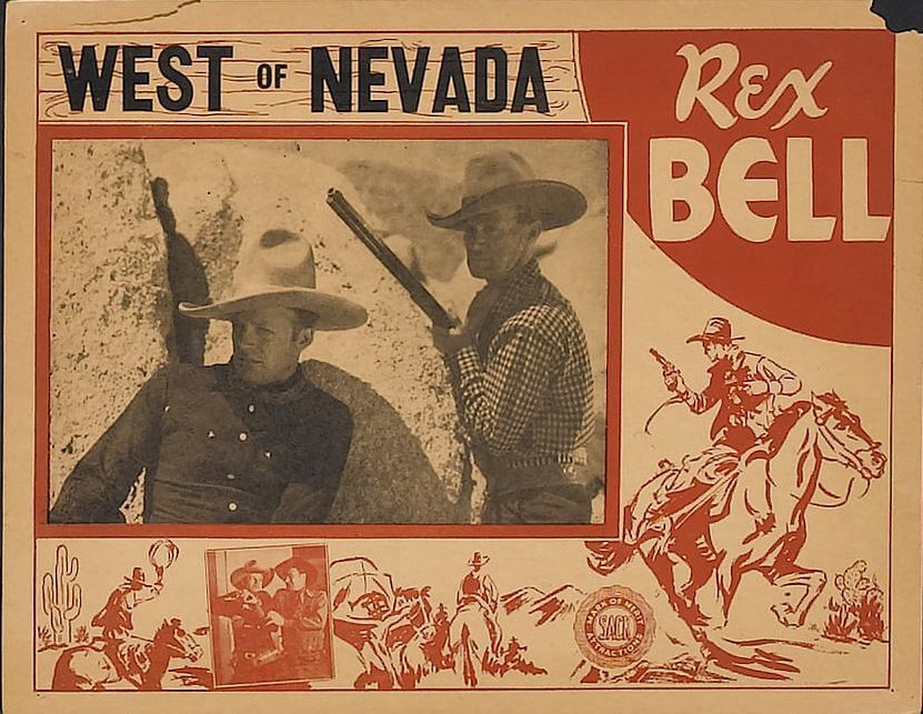 West of Nevada (1936) Movie Poster