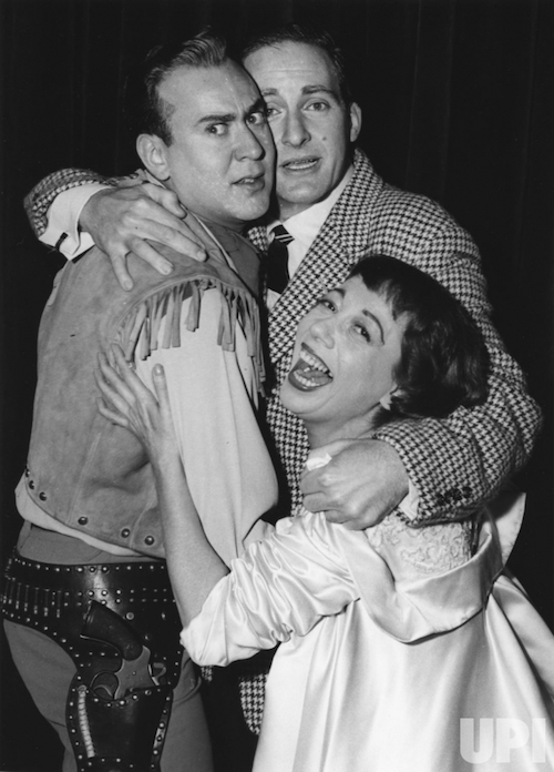 Carl Reiner, Sid Caesar & Imogene Coca on the groundbreaking Your Show of Shows