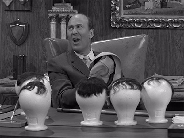 "Reiner as Alan Brady on the classic Dick Van Dyke Show episode ""Coast-to-Coast Big Mouth"