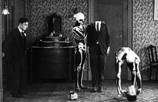 the haunted house buster keaton