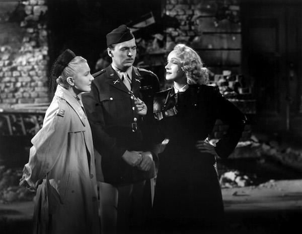 Foreign Affair Jean Arthur John Lund Marlene Dietrich