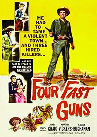 Four Fast Guns (1960) Movie Poster