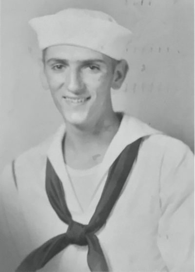 Harry Dean Stanton in the US Navy, photo courtesy of Jim Huggins Jr and University Press of Kentucky