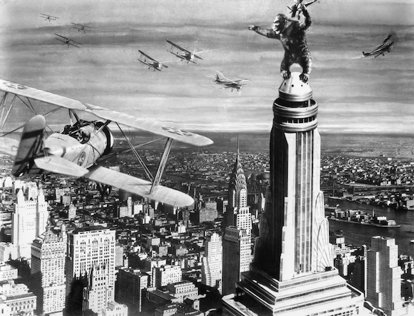 King Kong 1933 Empire State Building