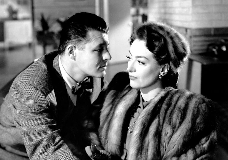 Jack Carson and Joan Crawford in Mildred Pierce (1945)