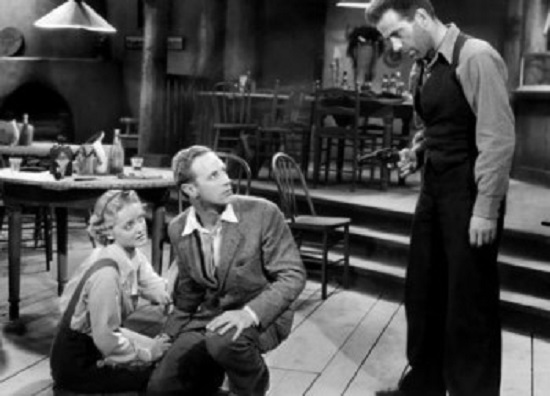 The Petrified Forest (1936) Bette Davis, Leslie Howard, Humphrey Bogart